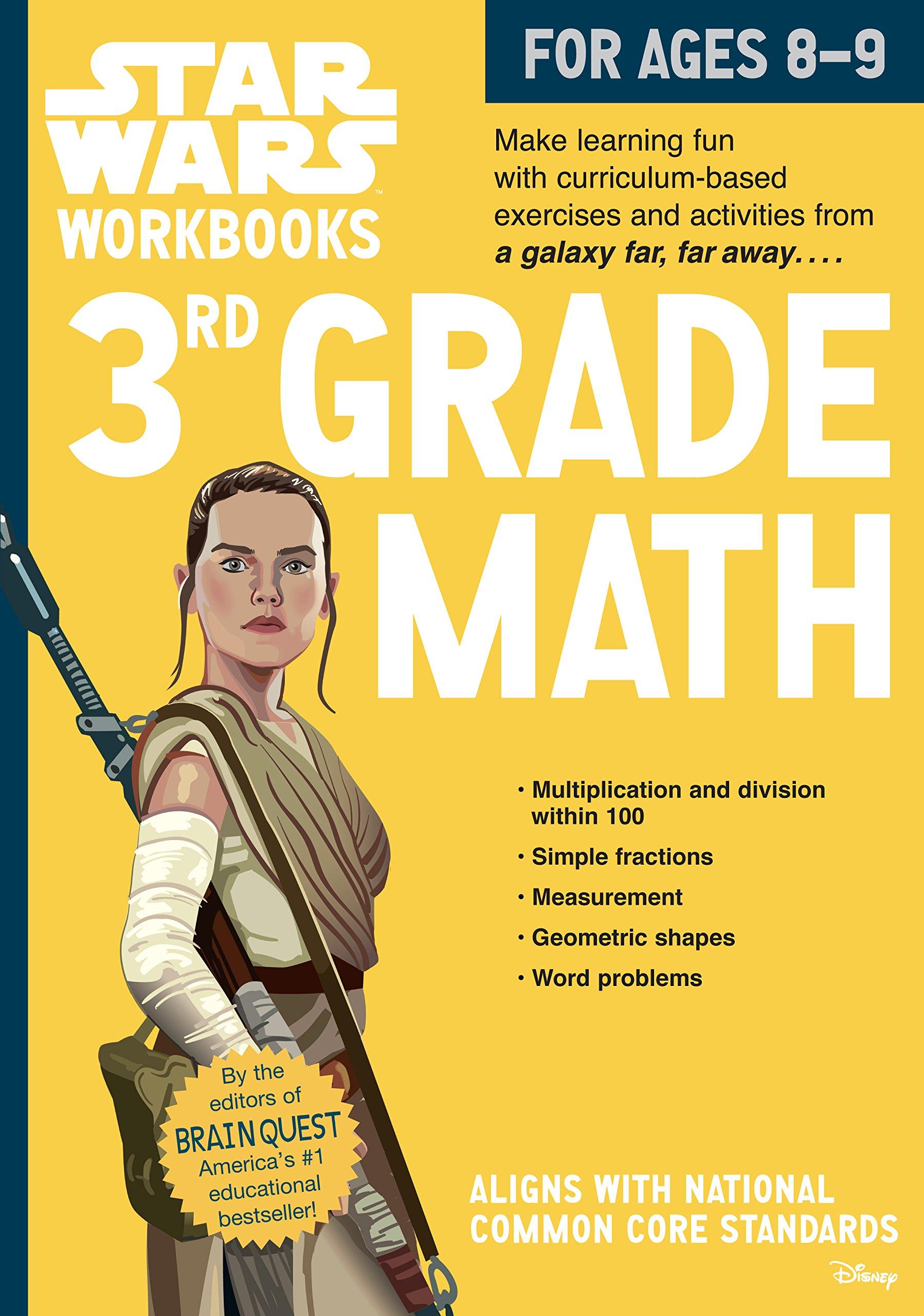 Star Wars Workbook: 3rd Grade Math (Star Wars Workbooks): Workman ...