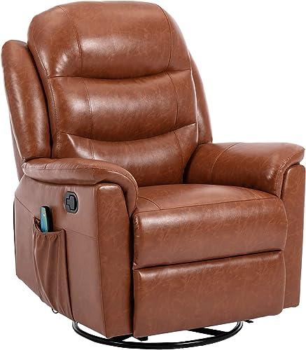ERGOREAL Swivel Recliner Chair
