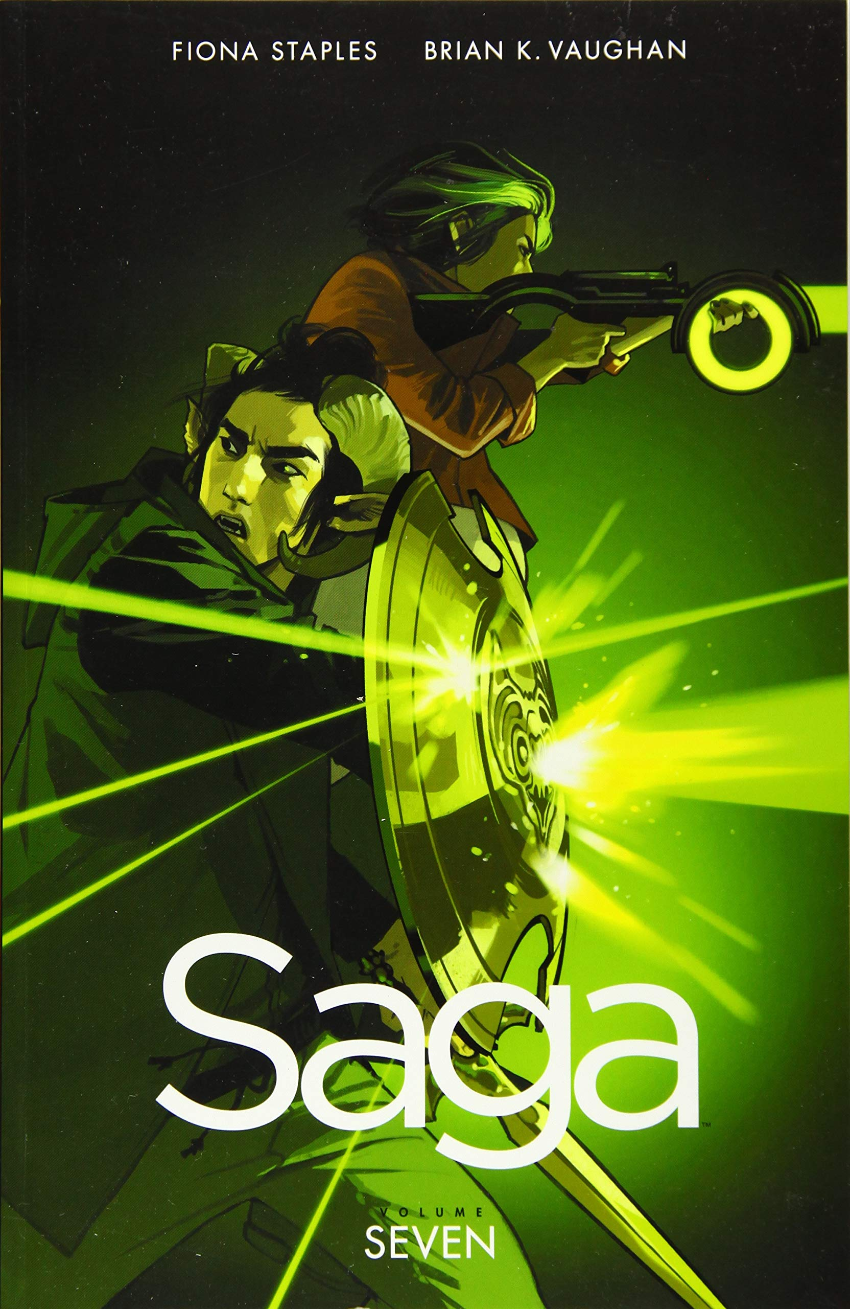 Amazon.com: Saga Volume 7 (9781534300606): Vaughan, Brian K, Staples,  Fiona: Books