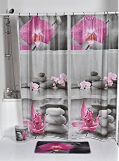 TENDANCE Evideco Atelier Loft Peva Bain Imprim Rideau De Douche Multicolore 180 X 30