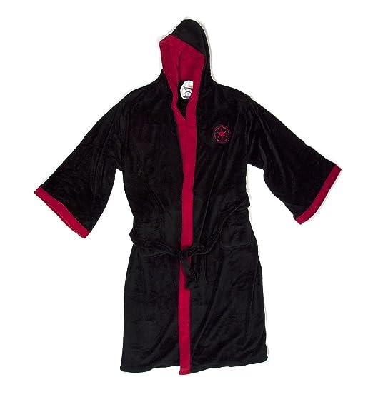 Star Wars Classic Collection Sith Black Bathrobe  Amazon.co.uk  Clothing a264f24b5