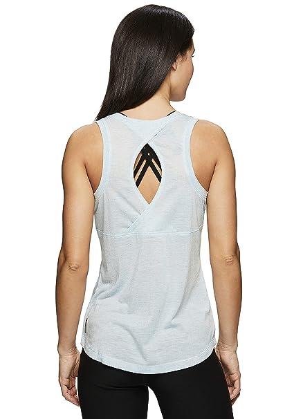 dc01d3415674c RBX Active Women's Multi Back Detail Workout Yoga Tank Top 19 Blue S