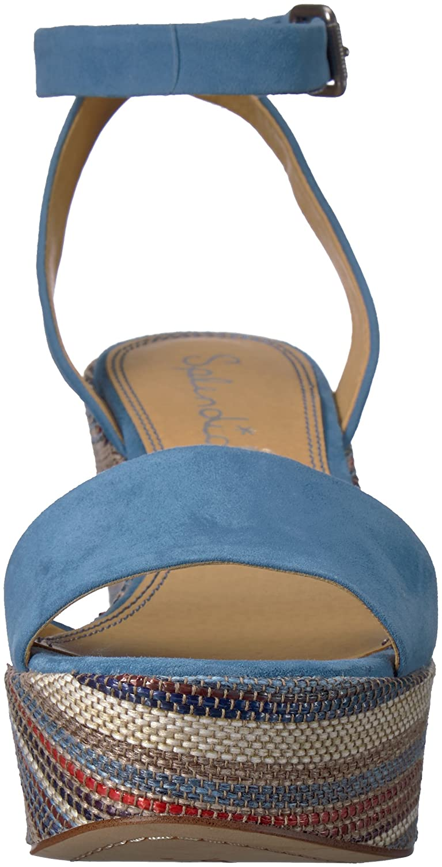 Splendid Women's Felix Wedge Sandal B074QWK7FH 6.5 B(M) US|Blue/Multi