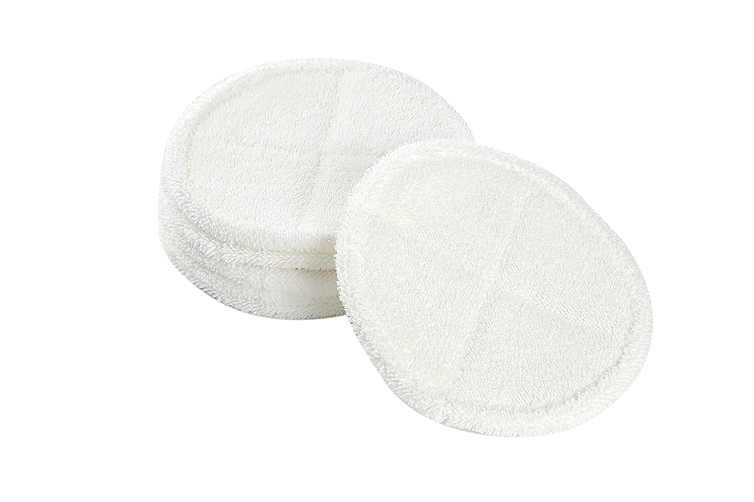 LTWHOME Replacement 8.6 Inch Soft Mop Pads Fit for Bissell Spinwave 2039 Series 2039A 2124 (Pack of 6)