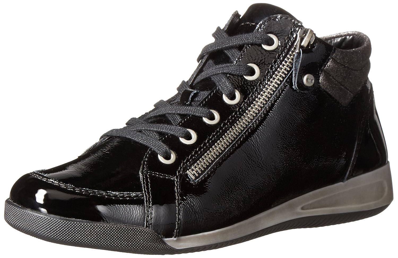 ara Women's Rylee Fashion Sneaker B00UD3N3PI 8 B(M) US|Black Vernice