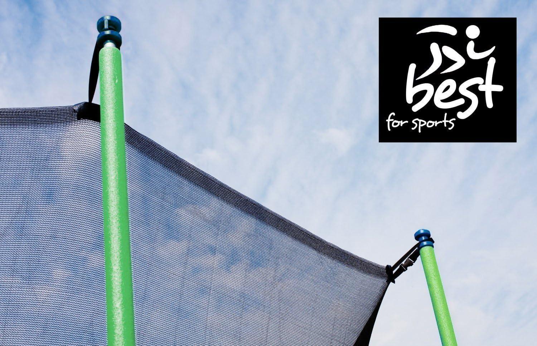 Best for Sports Trampolinzubeh/ör Ersatznetz Sicherheitsnetz 6 Stangensystem 244 cm