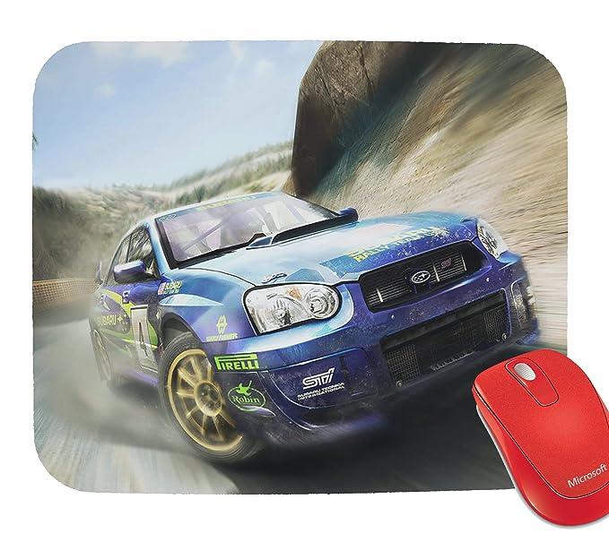 Subaru Impreza Turbo Racing Cars Mouse Pad Mousepad