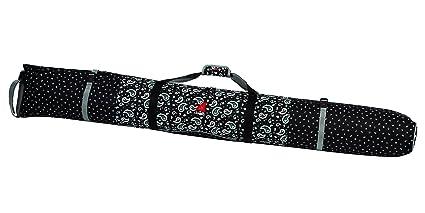 5adcf76664a Amazon.com   Athalon Padded Single Ski Bag (Bandana Black, 155cm ...