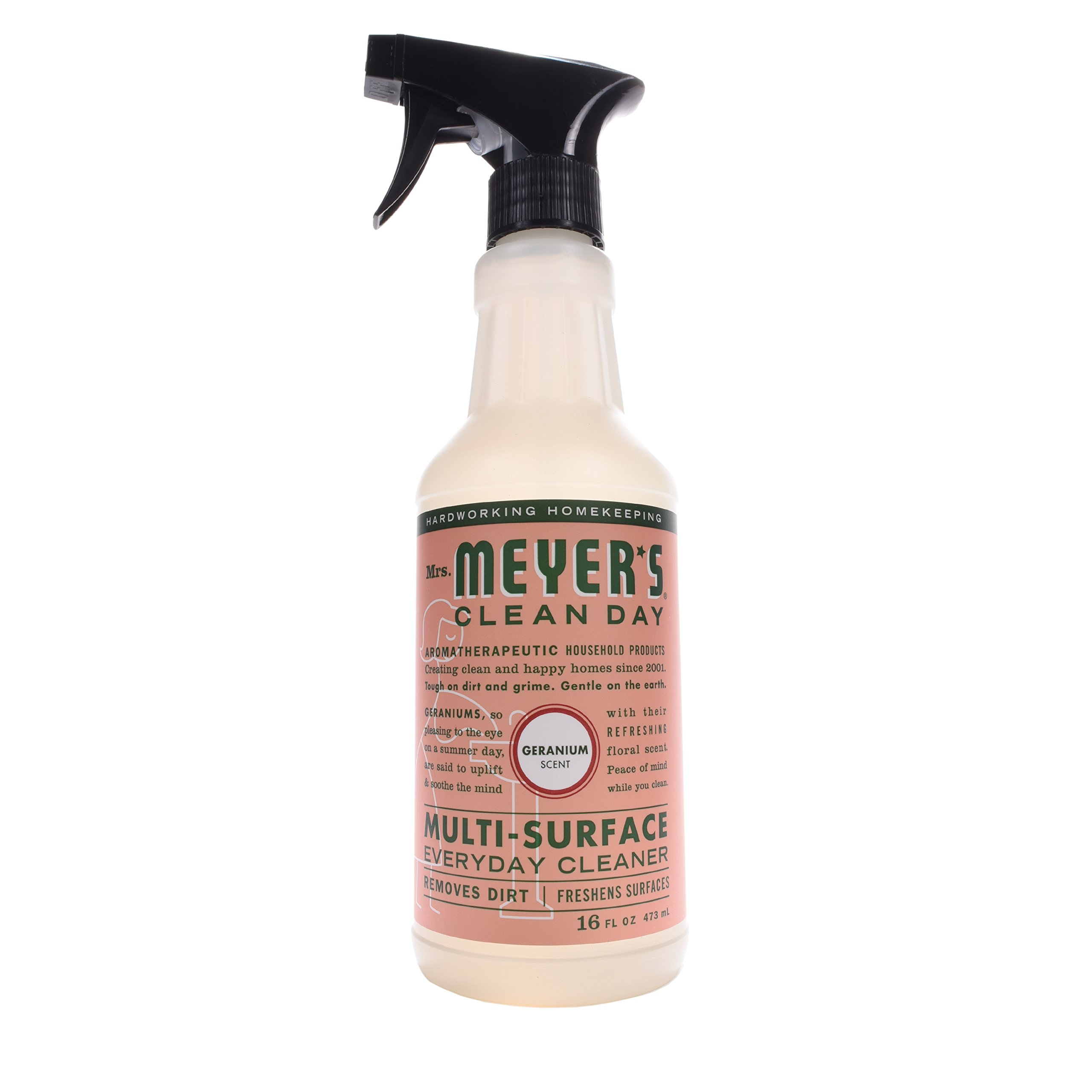 Mrs. Meyer's Clean Day Multi-Surface Everyday Cleaner, Geranium, 16 fl oz