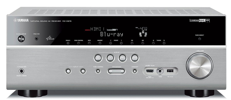 Yamaha RX-V675 - Receptor AV (7.2, 200 W, AM, FM, DLNA, Dolby ...