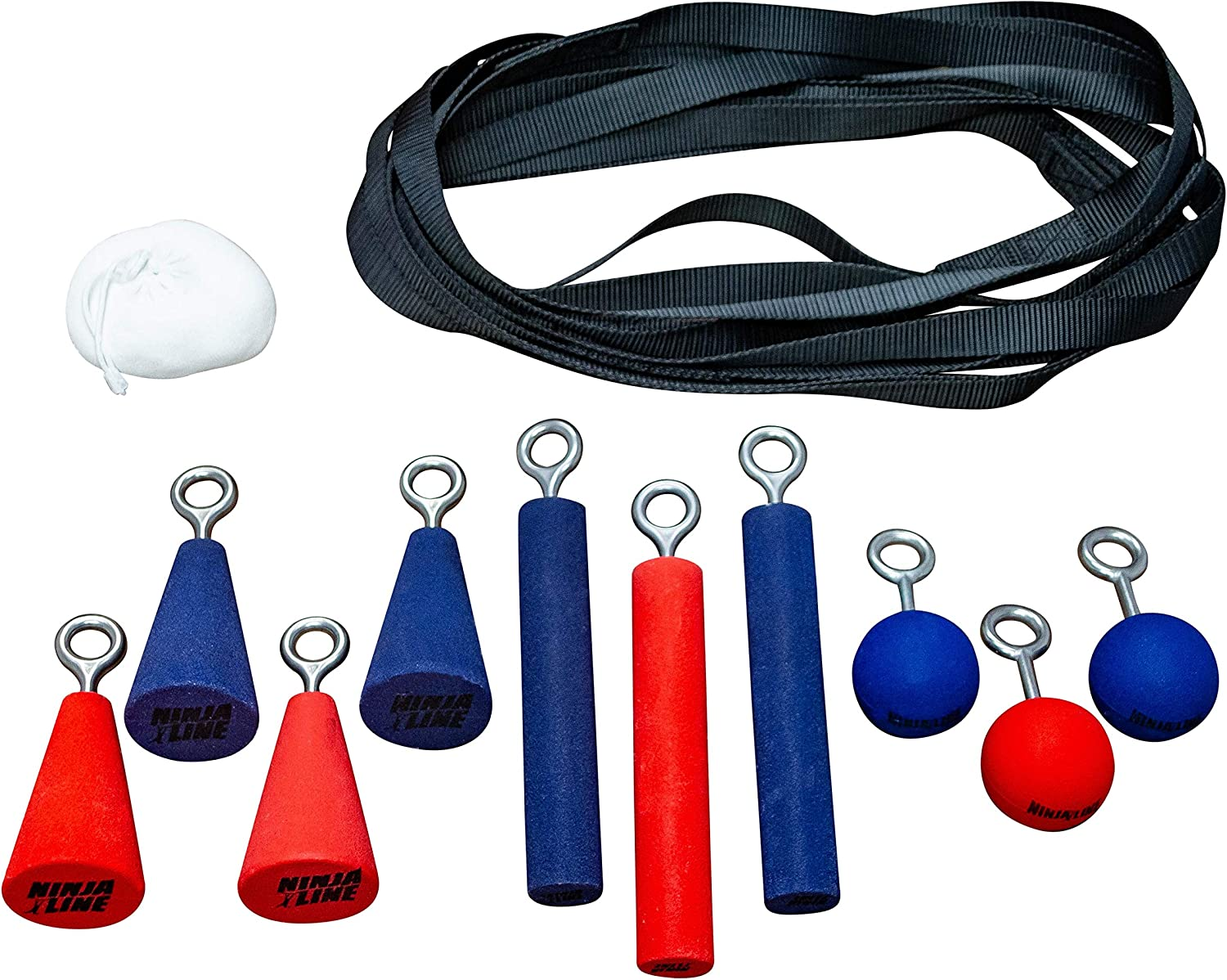 Slackers Pro Holds 10pc. for Grip Strength Training, Crossfit, American Ninja Warrior Training