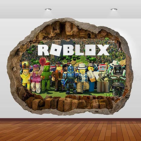 Roblox Wall Decal 3D Art Stickers Vinyl Room Home Bedroom