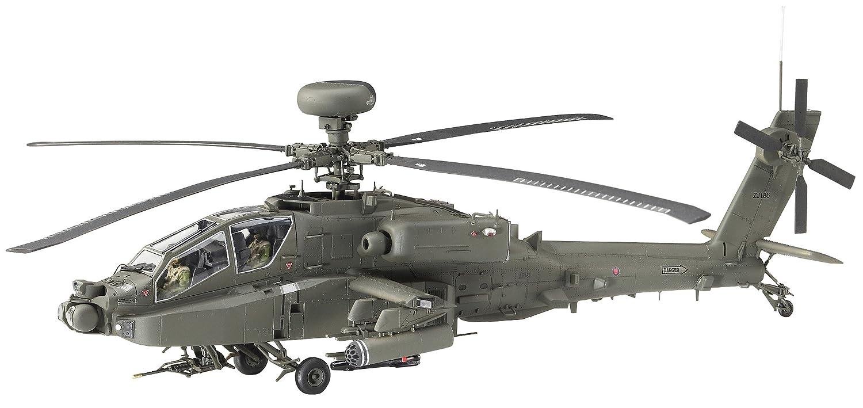 Hasegawa hjt07445 1: 48 Escala Kit de modelo wah-64d Apache cuerpo aéreo del ejército británico