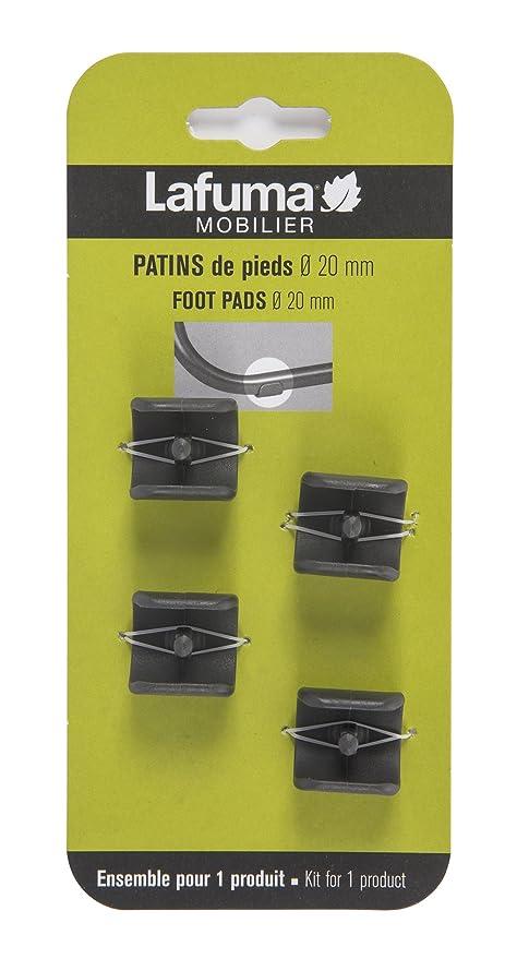 0247 Chaise De 4 Patins Fauteuil Lafuma Pour Relax Kit MmCouleurNoirLfm2418 LongueDiamètre20 Et WDe2HYE9I