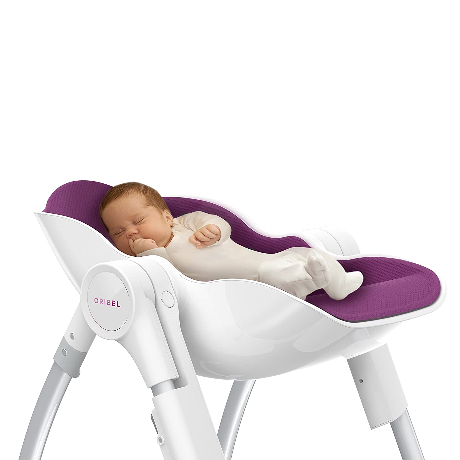 Oribel Cocoon High Chair, Plum OR201-90001