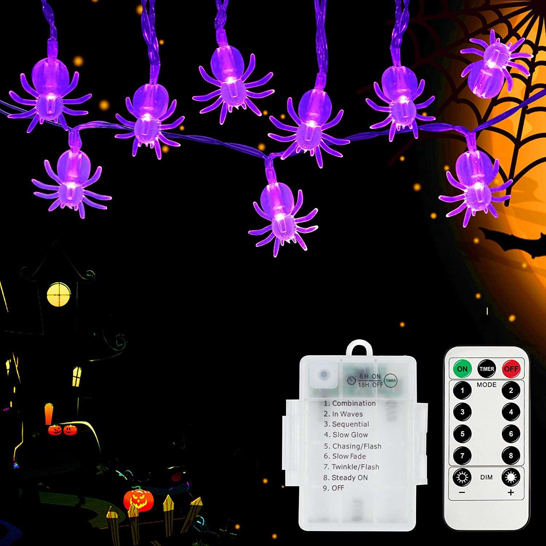 Spider String Lights