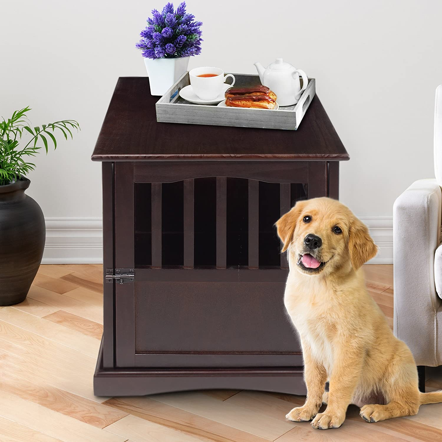 casual home  pet crate end table inch amazonca home  - casual home  pet crate end table inch amazonca home  kitchen