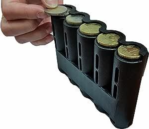 CLAIRE-FONCET Monedero con Dispensador de Monedas de 5