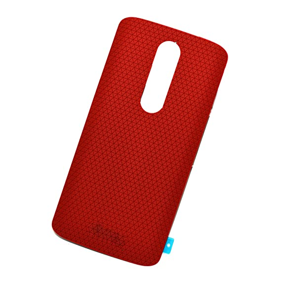 more photos f9770 3dcec Eaglestar XT1585 Rear Panel Back Cover Replacement Parts for Motorola Droid  Turbo 2 XT1585 XT1581 XT1580-Red