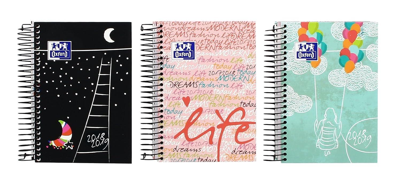 Oxford Lollie - Agenda escolar, día página, castellano con ...