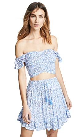 4c8851c4b27e1 Tiare Hawaii Women s Hollie Top   Lily Rose Skirt Set