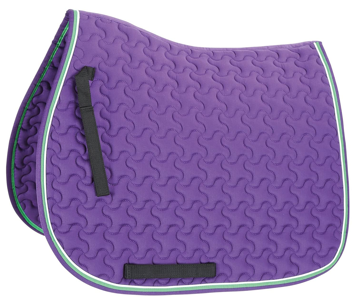 Purple lime 17-17.5 Purple lime 17-17.5 Shires Deluxe All Purpose Saddle Pad
