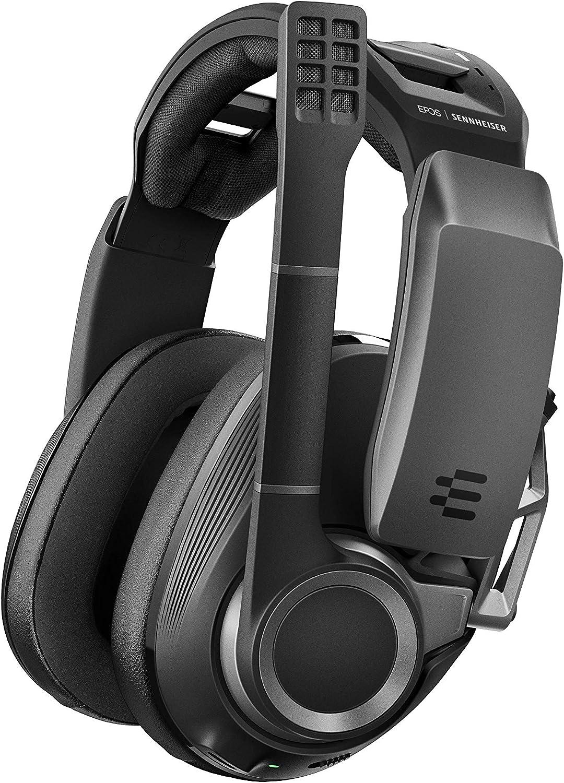 Son Surround 7.1 Pr/és/élections Audio Micro /à r/éduction de bruit avec Fonction Flip-To-Mute PS4 et Smartphones Noir Sennheiser GSP 670 Casque Gaming sans fil et Bluetooth /à Faible Latence Pour PC