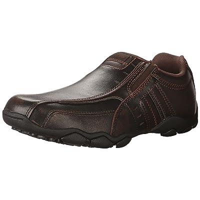 Skechers Men's Diameter-Nerves Loafer, dkbr, 8.5 Medium US | Shoes