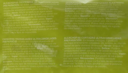 La Sirena- Alcachofa Troceada 400 gr: Amazon.es: Alimentación y ...