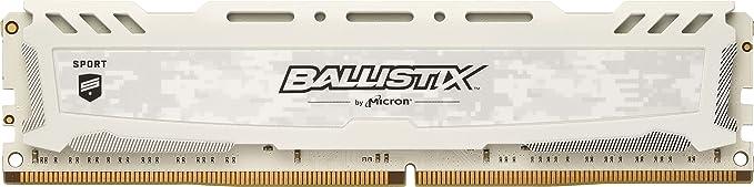 150 opinioni per Ballistix Sport LT BLS4G4D26BFSC Memoria da 4 GB, DDR4, 2666 MT/s, PC4-21300, SR