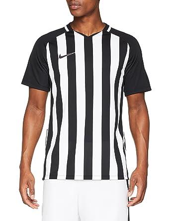 17eadeada Nike Men Striped Division III Short Sleeve Top - Black/White/White/Black