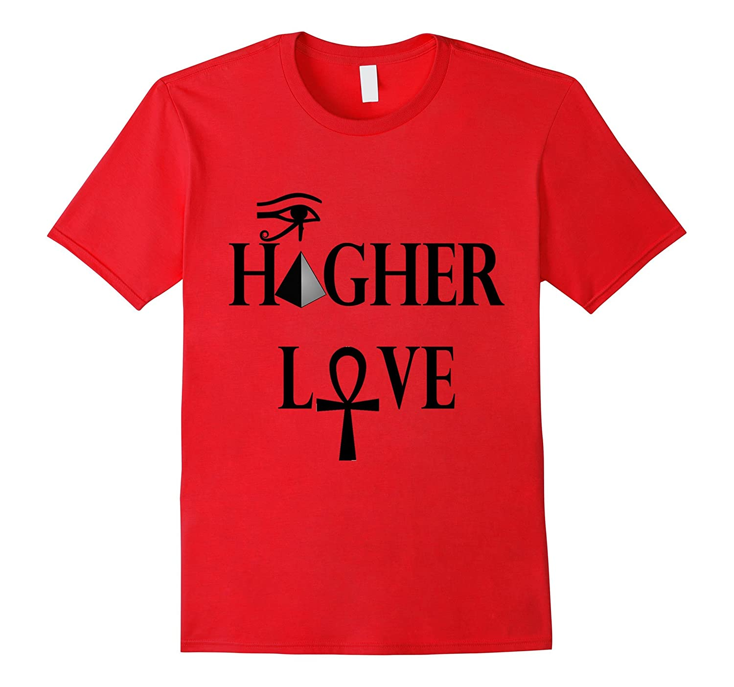 Egyptian T shirt Higher Love Pyramid-Tovacu