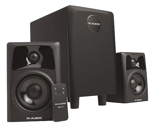 35 opinioni per M-Audio AV 32.1, Sistema Audio 2.1 con Coppia di Casse Acustiche Attive