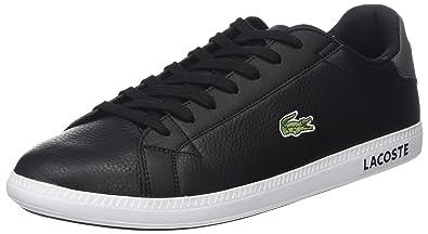 Lacoste Herren Graduate Lcr3 118 1 SPM Sneaker, Schwarz  Lacoste ... 442bf9b2cf
