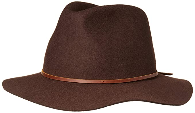 2859fee9b Brixton Men's Wesley Fedora Hat: Amazon.ca: Clothing & Accessories