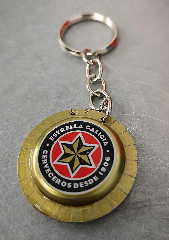LLavero cerveza Estrella Galicia: Amazon.es: Handmade