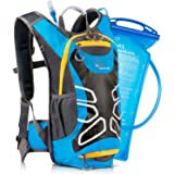 Hydration Pack Includes Free 2.0L (70oz) Water Bladder – Cat Mountain Backpack Fits Men and Women - Great for Biking, Running, Hiking and All Other Sports and Outdoor Activities