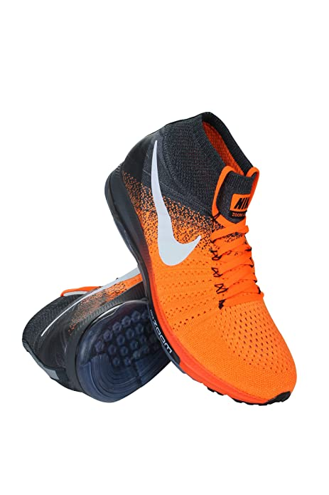 2803a1b1660c Nike 844134-800 Men Zoom All Out Flyknit Total Orange White  NIKE ...