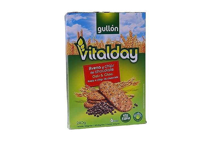 Vitalday - Desayuno Avena Y Choco Gullón Paquete 240 g