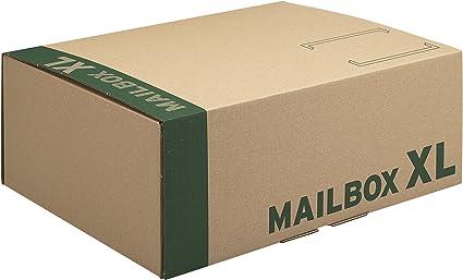 Progress CARGO - Caja embalaje Mailbox XL 460x333x174 20 uni ...