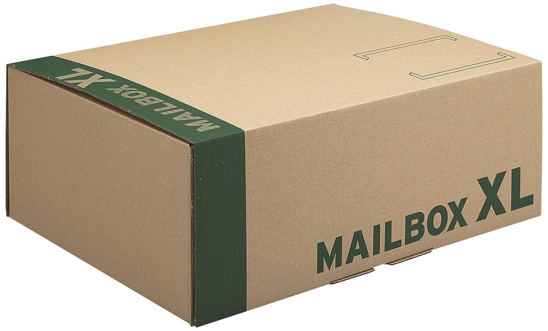 Progress CARGO - Caja embalaje Mailbox XL 460x333x174 20 uni: Amazon.es: Oficina y papelería