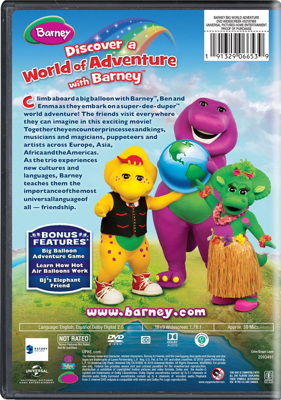 Barney: Big World Adventure - Movie Edizione: Stati Uniti ...