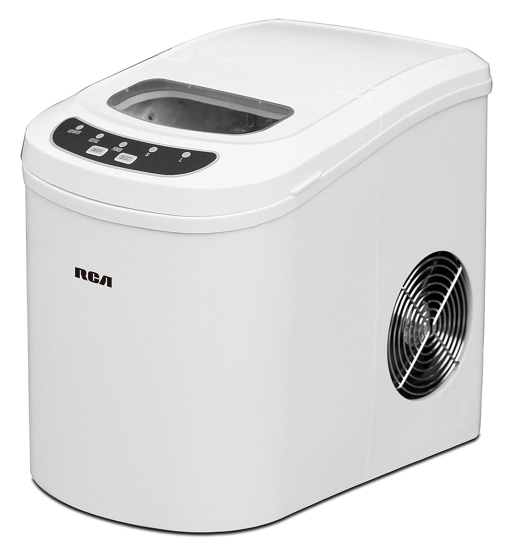 RCA Compact Ice Maker, White