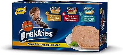 Brekkies Comida Húmeda para Gatos Multipack - 600 gr: Amazon.es ...