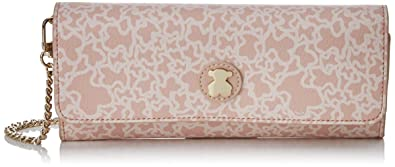 Tous Kaos Mini Lona, Cartera para Mujer, Rosa (Pink), 2x10x22 cm (W x H x L)