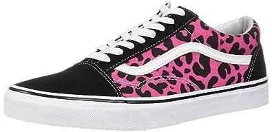 87e406388a Vans U Old Skool (0K6) (Leopard) Pink Black (5)