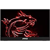 MSI Frameless Bezel Glass Surface 1920 X 1080 USB/HDMI Smart Cover Included IPS Portable Monitor (Optix MAG161V),Black