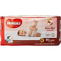 Huggies Fralda Supreme Care Hiper M, 80 Fraldas,  A Emabalagem Pode Variar
