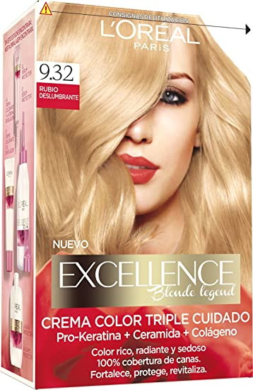 Amazon.com : Gemey Coloration - Excelence Blonde Legende ...