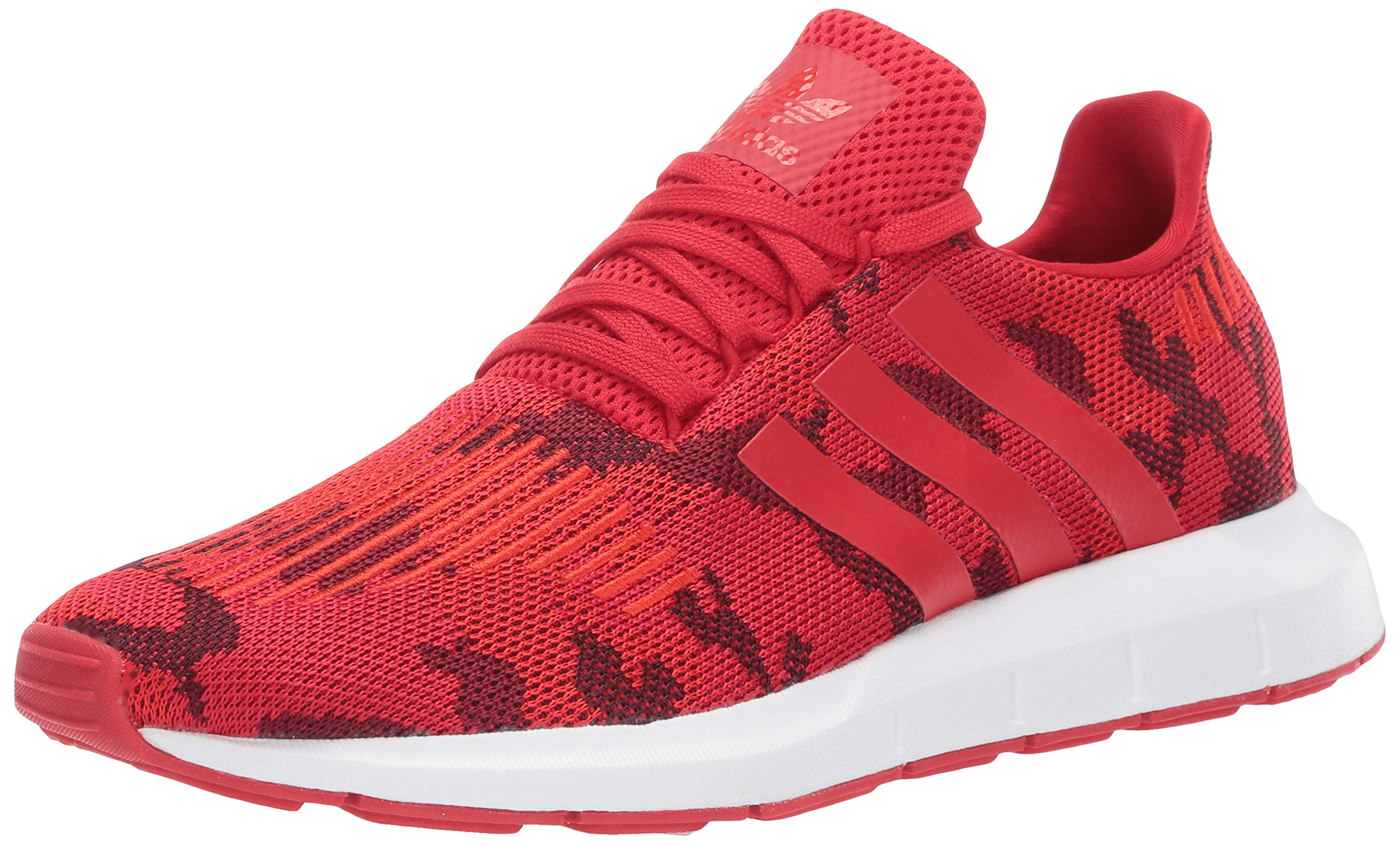 adidas Originals Men's Swift Running Shoe, Scarlet/White, 6 M US